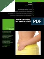 Dossier Laxatifs Actualites Pharmaceutiques 2010