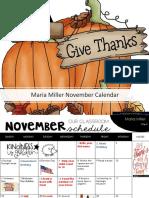 calendar november 2018