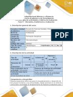 Guía de Actividades y Rúbrica de Evaluación - Fase 5 - Fase de Discusión, Trasferencia y Evaluación