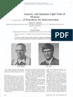 Light Conversion Paper Thimijan 1983