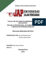 Recursos Renovables Del Peru