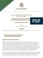 Papa Francesco 20150321 Napoli Pompei Incontro Duomo