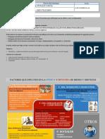 Esquema Conceptual y Cuadro Sinóptico Factores Que Influyen en La Oferta y en La Demanda