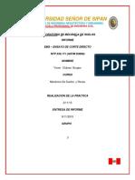 Laboratorio de Mecánica de suelos informe Ensayo de corte directo