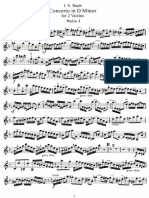 Bach - Double Concerto in Dm for 2 Violins Violin1