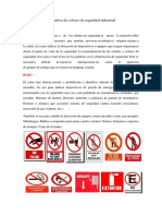 Normativa de Colores de Seguridad Industrial