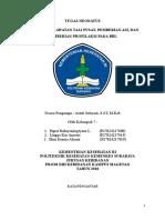 Perawatan Tali Pusat, Pemberian ASI, Dan Pemberian Profilaksi Pada BBL