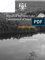 Report Of The Elliot Lake Commission Of Inquiry - Executive Summary.pdf