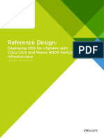 Design Guide for Nsx With Cisco Nexus 9000 and Ucs White Paper