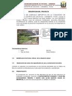 1.-Descripcion Tecnica Del Proyecto
