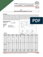 TD4-15 actuadores neumaticos Ch-air J+J