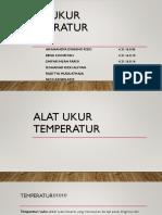 Alat Ukur Temperatur