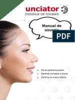 Manual Del Pronunciador