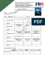 Lembar Asistensi FDM UM Arda