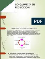 Equilibrio Quimico en Oxido-reduccion