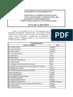 Acta XIX Reunion Educacion-Panama 21 Noviembre 2013.pdf.pdf