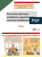N01I-1A- Nociones Fundamentales y Elementos de La Argumentación (PPT) Agosto- 2018