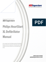 Philips Heartstart Xl Defibrillator Manual