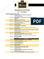 CCGF Day 1 Program of Activities