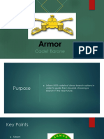 armor branch presentation-barone