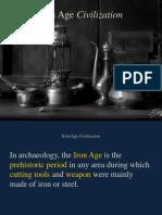 Iron Age Civilization