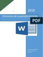 Elementos d Pantalla de Word