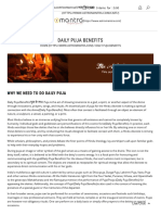 Daily Puja Benefits _ Why We Need to Do Daily Puja