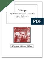 Ensayo. Ana Karenin.entre La Imaginacion y Los Sentidos.