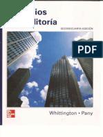 Principios de Auditoria 14ta Ed Whittington Pany