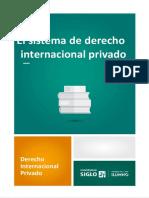 EL Sistema de Derecho Internacional Privado