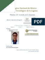 Laboratorio Integral 2.- Práctica 13.- Inversión de La Sacarosa