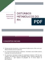 Distúrbios Metabólicos Do Rn 2
