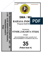 Pra Ujian Nasional Bahasa Indonesia Bahasa Sma Kode a (35)