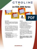 Electroline DROPAmp Cut Sheet