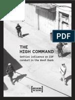 The High Command Shovrim Shtika Report January 2017