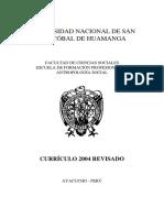 MV1. Currículo P16 Antropología Social