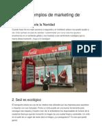 Algunos Ejemplos de Marketing de Guerrilla