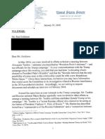 Senate Judiciary Committee Letter to Paul Erickson 01/25/18