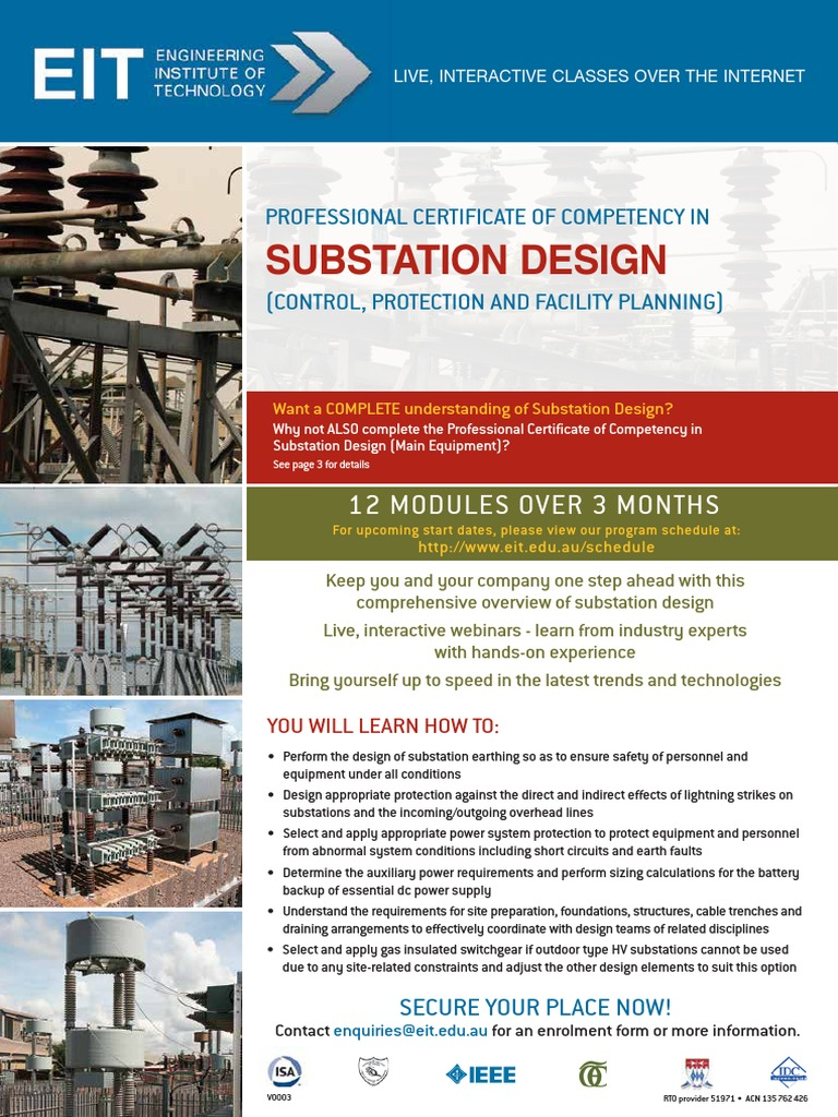 E_CEY2 pdf | Electrical Substation | Electricity