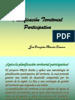Planificación Territorial Participativa