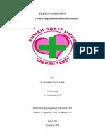Laporan Kasus Hematoskezia Dan Melena - Intership Dr.nurlatifah