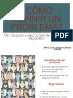 ¿Cómo definir un problema?