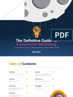 The Definitive Guide to Experiential Marketing