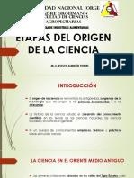 Clase 2 - Etapas Del Origen de La Ciencia