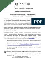 Agenzia Abrami - segnalazione IVASS