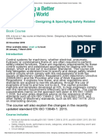 Machinery Series - Designing & Specifying Safety Related Control Systems - HSL