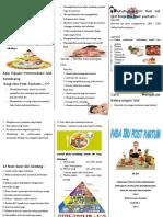 Leaflet Gizi Ibu Post Partum