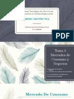 Tema 3 Mercados de Consumo y Negocios