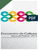 Encuentro de cultura 2013