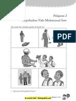 Pelajaran 2 Kepribadian Nabi Muhammad SAW